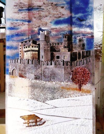 Castello di Fenis in inverno