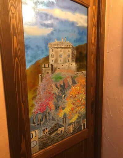Castello di Verres in autunno